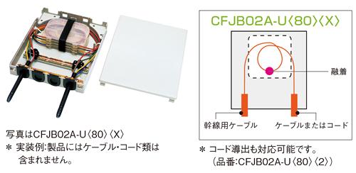 キャビネット、CFJB02A-U、住友電工